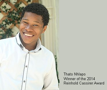 Thato Nhlapo, winner of the 2014 Reinhold Cassirer Award- Bag Factory Artists' Studios - Johannesburg, South Africa
