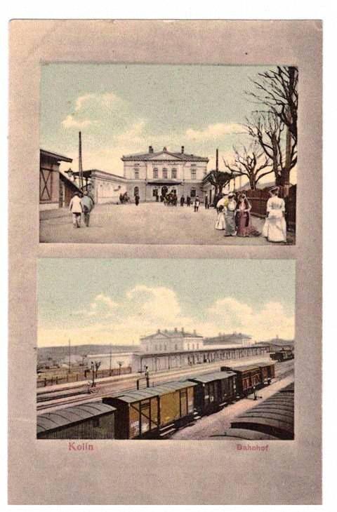 2 kolínské nádraží - sbírka pana Miloslava Švece