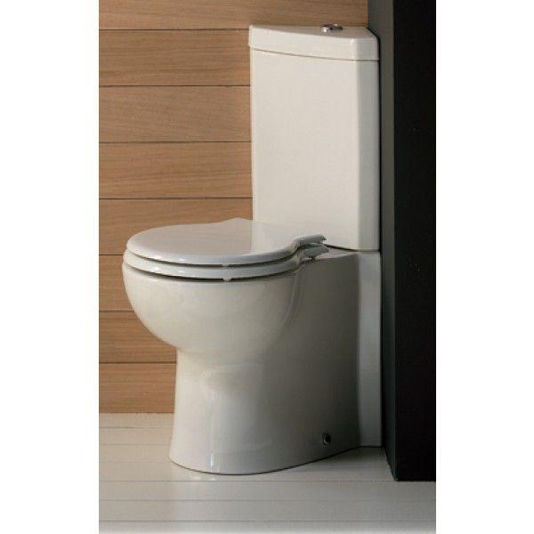 Corner Toilet Suite White Evolution II