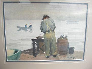 Maine watercolor