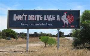 New Australian road signs! good ole' Aussie humor! :)