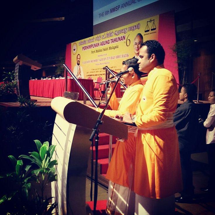 Saya Sebagai Pengacara, Majlis Rasmi Parti Makkal Sakti Malaysia Konvensyen Ke 6- 14-9-2014. Dirasmikan oleh YAB PERDANA MENTERI.
