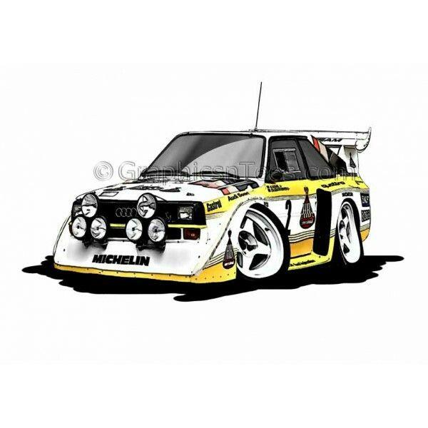 Http Graphicsntees Com Audi Quattro S1 E2 Group B Rally Car Voiture Audi Quattro Cadeaux Voiture