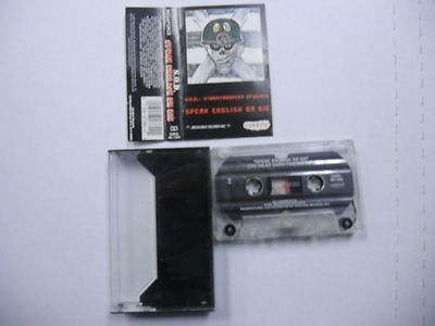 Stormtroopers Of Death Speak English Or Die Cassette Tape Megaforce Records 1987
