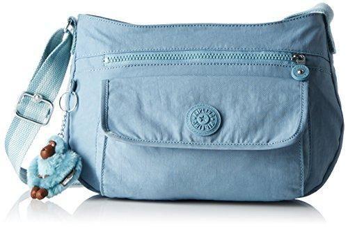 Oferta: 74.9€ Dto: -24%. Comprar Ofertas de Kipling - Syro, Bolsos bandolera Mujer, Blau (Pastel Blue C), One Size barato. ¡Mira las ofertas!
