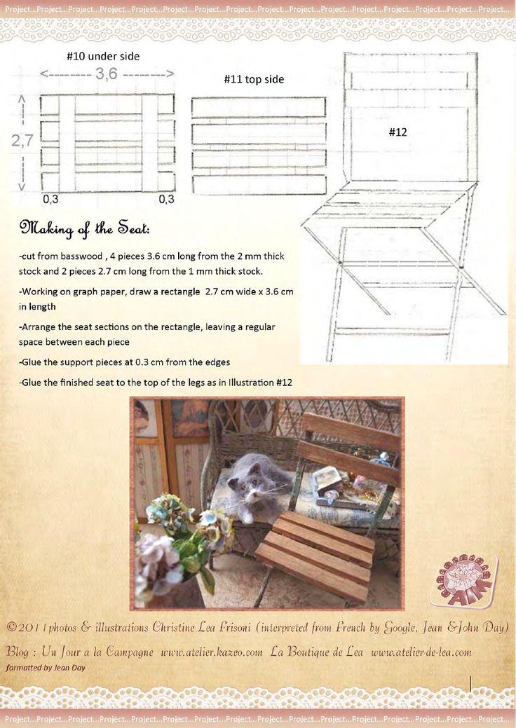 AIM mag issue 31 February 2011 diy folding chair