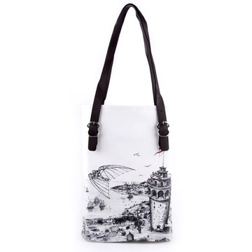 Istanbul Under My Wings Tote Bag, 36€, now featured on Fab.