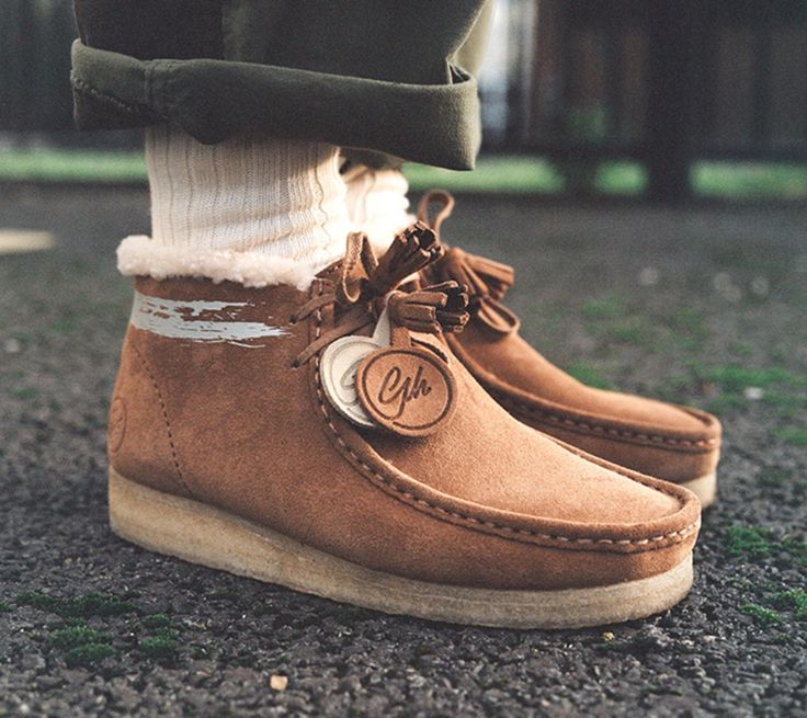 Goodhood Reworks the Clarks Originals Wallabee. A very British collaboration