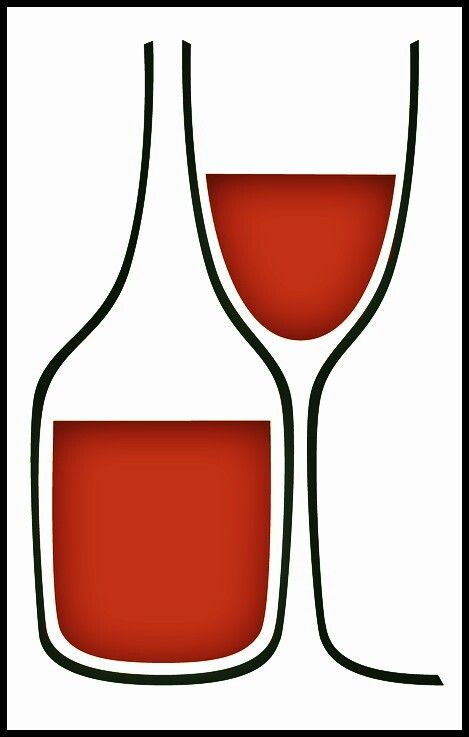Wine Logo  __[Via behance.net] (Remix ↳₥¢↰)