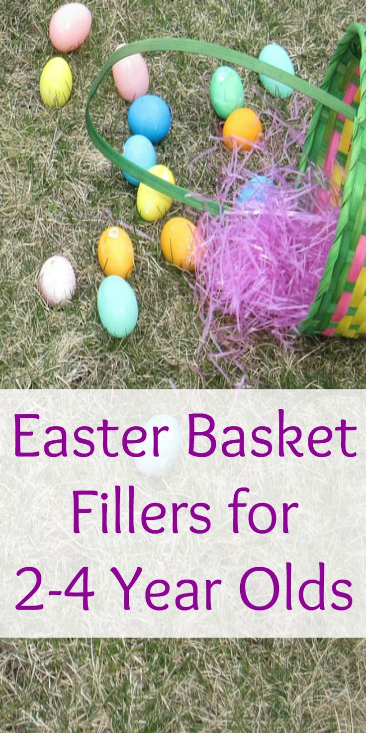 409 best easter images on pinterest easter ideas easter decor easter basket fillers for 2 4 year olds negle Choice Image