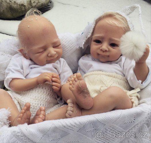 Bylo nebylo, jednou ve sněhu.. reborn panenka, miminko - 1