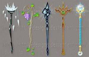 Staff designs 30 by Rittik-Designs