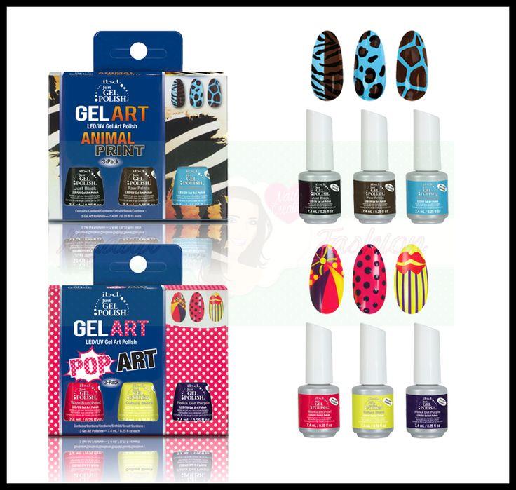 Kit Semipermanente Nail Art IBD