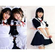 Free Shipping Sexy Sissy Maid Dress Cotton Lockable Dress Maid Uniform Cosplay Costume Tailor-made //Price: $US $109.89 & Up To 18% Cashback //     #gothic