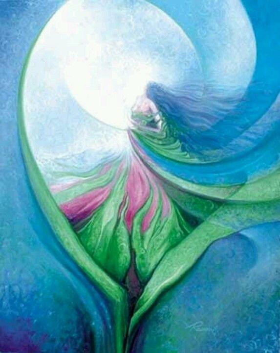 All is well with my Soul...  Art: Freydoon Rassouli..