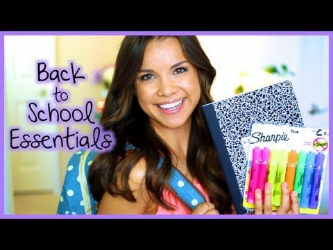 Missglamorazzi is having a Back To School Essentials + GIVEAWAY!! Make sure you watch her video!!