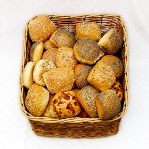 Rundstykker. Danish Breakfast buns