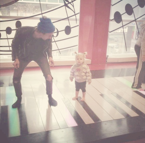 Harry and Lux...too adorable for words