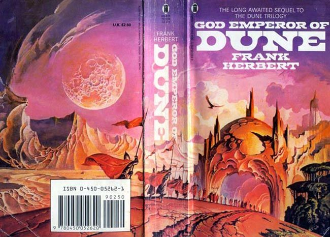 Dune book series, New English Library - Fonts In Use