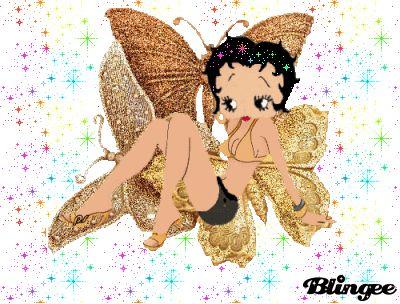 Sexy angel betty boop