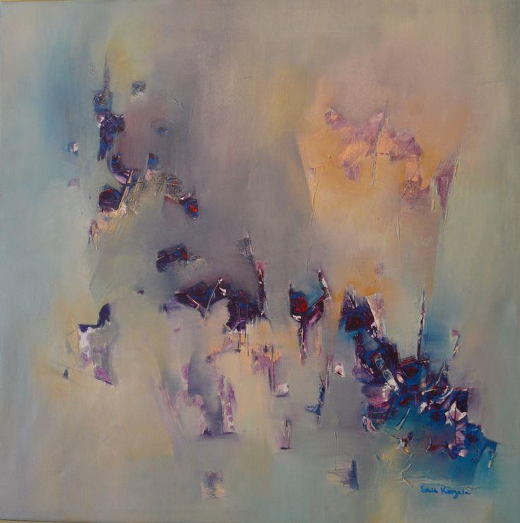 Sonia Kusznir - Oleo sobre tela - 100 x 100 cm www.esencialismo.com