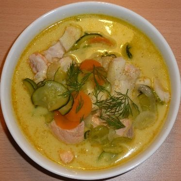 Curry-Fischsuppe Rezept