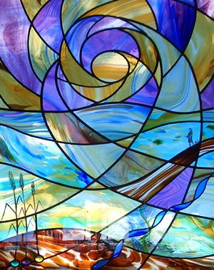 Heavenly Stained Glass Window via  'creative-stainedglass.co.uk'<3<3<3