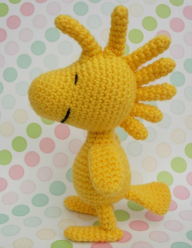 Woodstock Crochet Doll