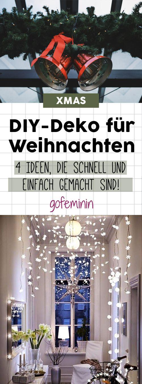 Einfach & schnell: Zauberhafte DIY-Dekoideen für Weihnachten