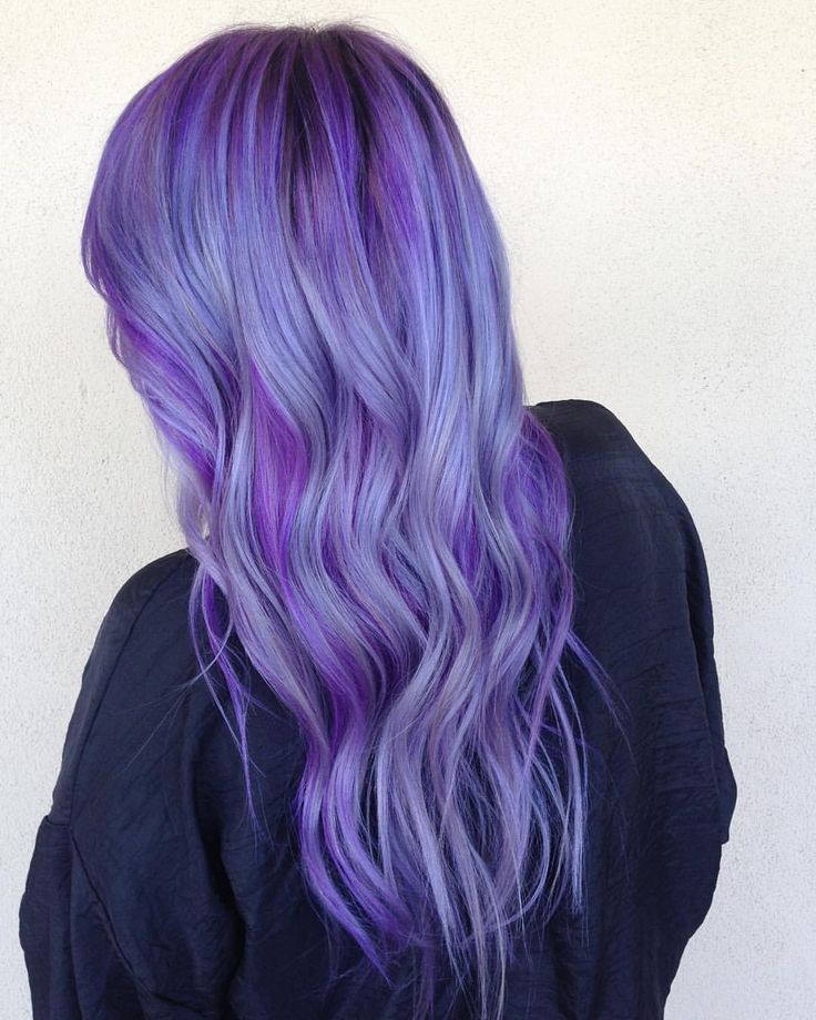"Savannah Nance on Instagram: ""Only took 7 hours . I had to lift out any warmth and tone with 10V Colorance, I let it sit for 25 mins with @olaplex (that's stuff is amazing). Following that I dried her hair and applied @manicpanicnyc purple and @pravana silver """