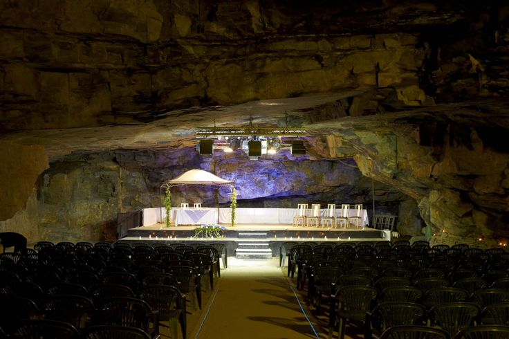 Carnglaze Caverns, Liskeard. How about getting married underground?