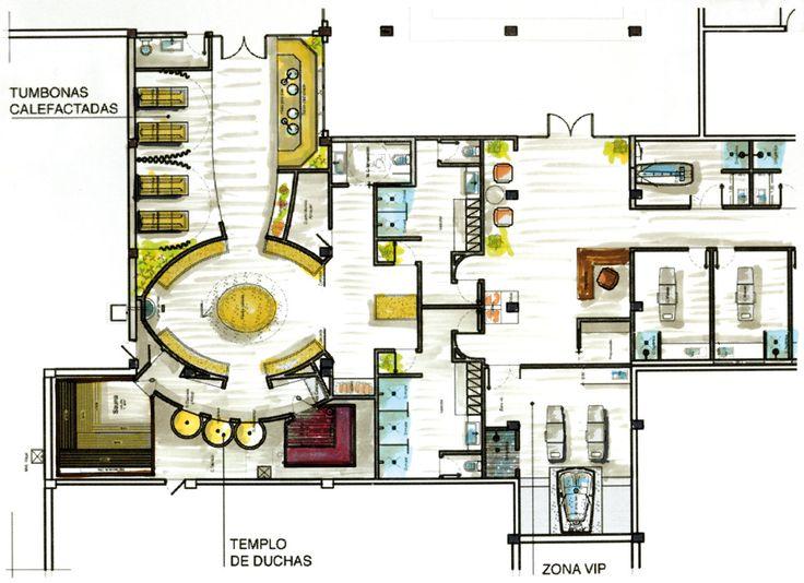 Proyectos destacados hipocampo 1280 930 spa for Plano de cocina hotel 5 estrellas
