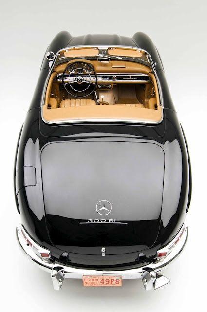 I want this car.. / Mercedes / Black / 300 SL /