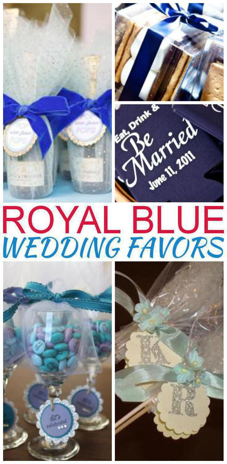Royal Blue Wedding Favors Royal Blue Wedding Favors Blue Wedding Favors Wedding Favor Inspiration