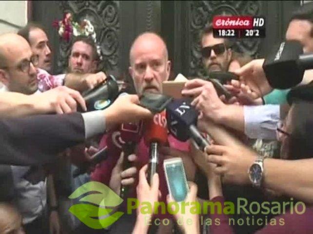 """Sergio Maldonado reconoció que el cuerpo que encontraron en el río """"es Santiago"""""""
