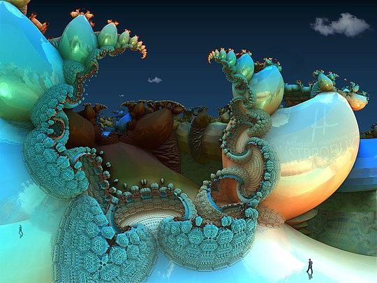 Hot 3D Fractals by Johan Andersson | Cruzine