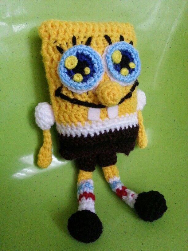Sponge Bob amigurumi