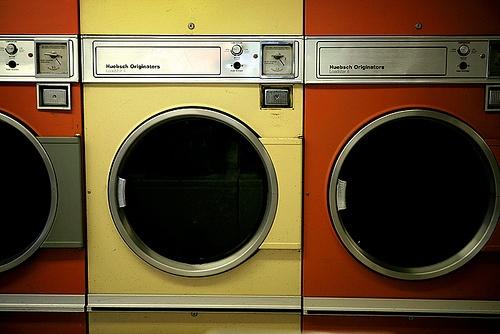 the launderette.