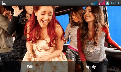 "Note : This is a live wallpaper and not an application so you wont find any icon on home screen. To activate Live Wallpaper please follow the steps :1. Download the Live Wallpaper from Google Play 2. Long press the home screen 3. Select Wallpaper 4. Select Live Wallpaper 5. Select ""Ariana Grande Live Wallpaper"" and set active.Ariana Grande-Butera (born June 26, 1993), known professionally as Ariana Grande, is an American actress and singer. She made her performance debut on..."