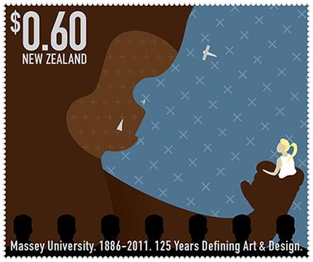 125th Massey Anniversary stamp set: Sir Richard Taylor