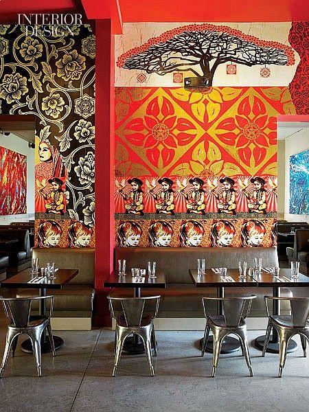 Street Food: Miami's Wynwood Kitchen & Bar   Projects   Interior Design
