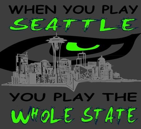 Seattle Seahawks team for the whole State!