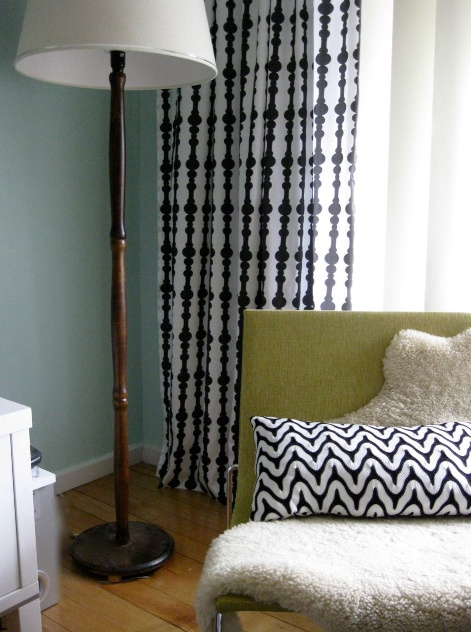 Nice curtains!