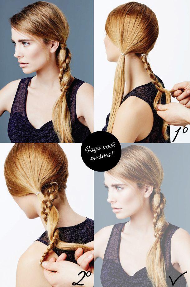 Penteado-fácil-rabo-de-cavalo-trança-truque-feminino-2013