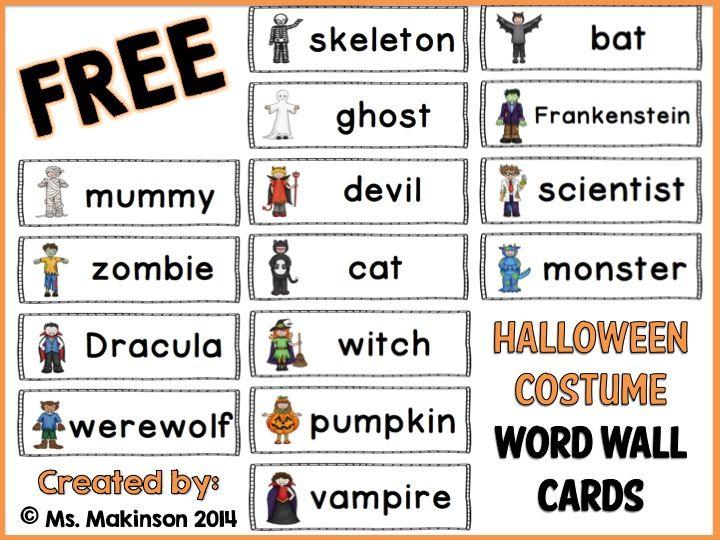 23 best Halloween images on Pinterest English language, Halloween - halloween writing ideas