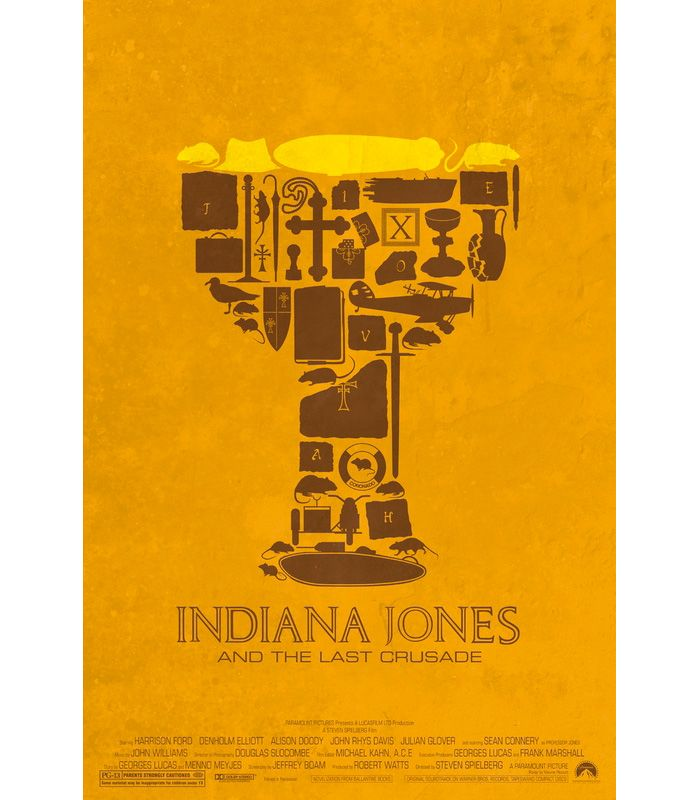 Indiana Jones and the Last Crusade by Maxime Pecourt