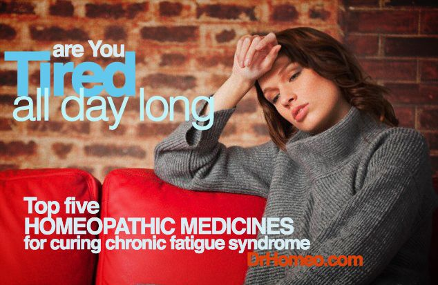 Best homeopathic medicines for chronic fatigue syndrome treatment with extreme tiredness, depression, weak memory , muscle pain, body pains and drowsiness.