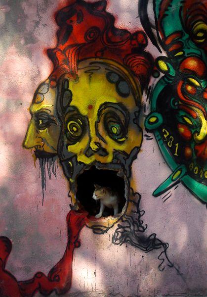 Street art by Chrysa Chatzi
