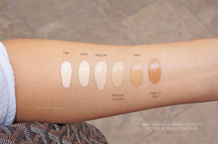 bare minerals bare skin concealer swatches - Поиск в Google