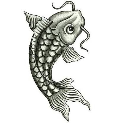 76 best images about fish designs on pinterest japanese for Coy fish designs
